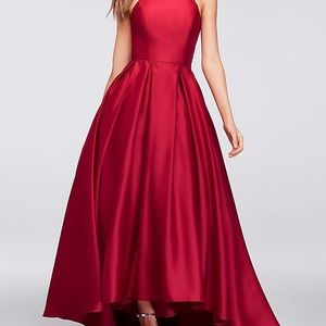 Red Ballgown Prom Dress!